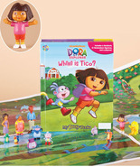 Dora Book & Figure Set  New - $19.95
