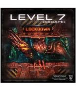 LEVEL 7 [ESCAPE] - Lockdown  board game new sealed box - $24.99