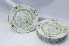 "Mikasa Kabuki Dinner Plates 10.5"" Lot of 7 - $58.79"