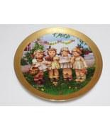 Danbury Mint Hummel 1993 We Wish You the Best Plate-11-y068 - $22.00