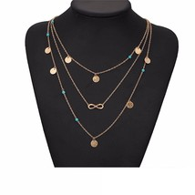 DZG Fashion Jewelry Women's Multi Chain Jewelry (Multi Chain Choker) - $11.99