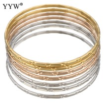 Fashion Party girl Jewelry flower cut Stainless Steel Bracelets & Bangle... - $10.69