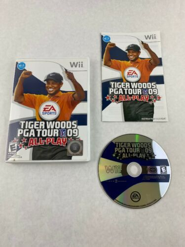 Primary image for Tiger Woods PGA Tour 09 All-Play Nintendo Wii Game 2008 Electronic Arts w/Manual