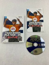 Tiger Woods PGA Tour 09 All-Play Nintendo Wii Game 2008 Electronic Arts ... - $5.00