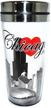 I Heart Chicago Souvenir Designed Travel Mug - $21.06