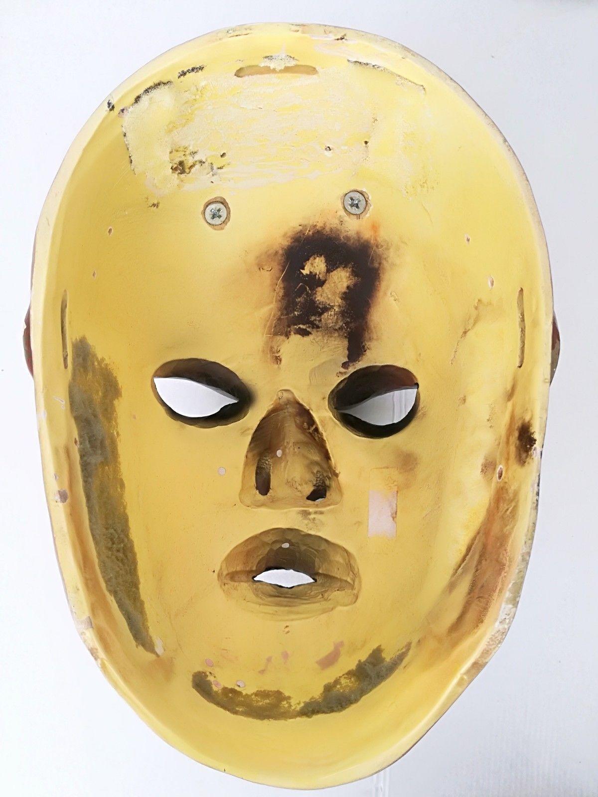 Antique Nikolaus Krampus wood handcarved BLACK FOREST Devil Mask Gothic oddities image 11