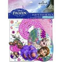 Disney Frozen Birthday Party Favor Value Package 48 pieces Included New - $8.86