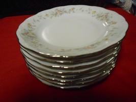 """Outstanding Johann Haviland """"Floral Splendor"""" .Set Of 8 DESSERT/BREAD Plates - $22.58"""
