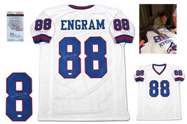 Evan Engram Autographed SIGNED Jersey - JSA Witnessed w/ Photo - White - $128.69