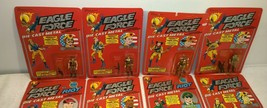 Vintage 1981 Mego Eagle Force Full 18 figure Set MOC Diecast Metal Rare ... - $962.49
