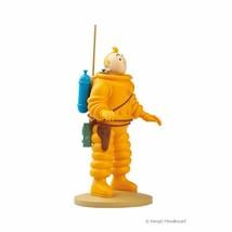 Tintin astronaut polyresin figurine Official Tintin product