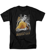 Bruce Lee Yellow Dragon T Shirt Licensed Martial Arts Movie Actor Tee Black - $17.99+