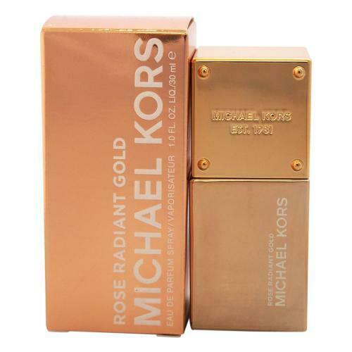 MICHAEL KORS ROSE RADIANT GOLD 1 OZ EDP Spray for Women - $28.95