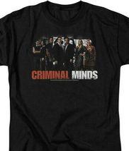 Criminal Minds t-shirt cast members crime TV drama series graphic tee CBS255 image 3