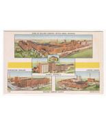 Kellogg Company Factories Around World & Battle Creek Michigan postcard - $6.30