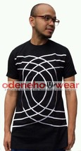 Odeneho Wear Men's Black Polished Cotton Top/Embroidery Design.African Clothing - $84.15+