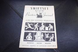 Vintage 1951 SWIFTSET ROTARY PRINTERS JOURNAL Collectible - $19.99