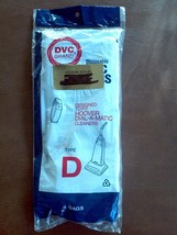 DVC Hoover Type D Vacuum Bags (3) Dial A Matic Cleaners New - $18.81