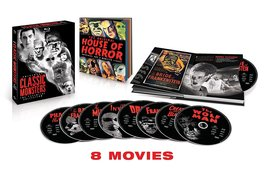 Universal Classic Monsters: The Essential Collection (Blu-ray, 2012, 8-Disc Set) image 2