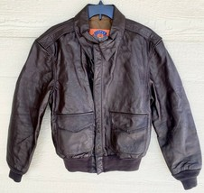 US AIR FORCE COOPER FLYERS MEN'S LEATHER TYPE A-2 FLIGHT JACKET - SIZE 40R - $163.35