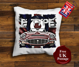 Jaguar E Type Cushion Cover, Jaguar E Type Cushion, Union Jack, Target, - $9.01+