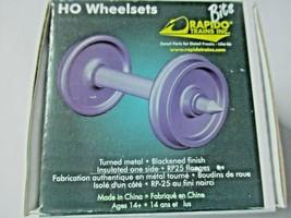 "Rapido # 102087 Wheels Metal 36"" (Code 110) Length 1.015""  50 Pack HO Scale image 1"