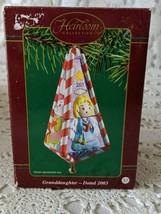 Carlton Cards Heirloom Granddaughter Ornament 2003 - $14.54