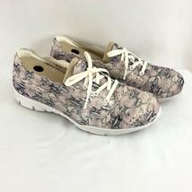 Skechers Womens Sneakers Memory Foam Mesh Breathable Wide Fit Snake Beig... - $38.69