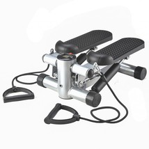 New Aerobic FitnessAdjustable Twister Stepper w/ Rope, Mini Stepper - $179.68