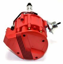 SBC Chevy 283 329 350 383 HEI Distributor & 8mm  SPARK PLUG WIRES image 4