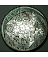 2014 NIUE 2 DOLLARS SILVER TURTLE ARTIFICIALLY TONED ART COIN UNC #7 (DR) - $197.99