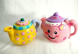 Fisher Price Mattel Musical Teapots  - $6.13