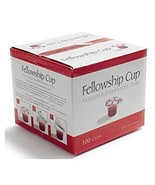 Fellowship cup,Prefilled communion cups juice/wafer-100 cups (net wt.1.6... - $21.18