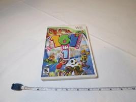 101 IN 1 Fête Megamix (Nintendo Wii, 2009) Notes Video Game Everyone Esr... - $10.61