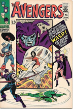 The Avengers Comic Book #26, Marvel Comics 1966 VERY FINE - $67.64