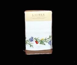 Ralph Lauren GEORGICA GARDEN Embroidered Pique KING Sham NIP MSRP $130 D... - $82.99