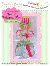 Stitch-A-Little: Spirit of Christmas Past Chart only cross stitch Brooke... - $5.40