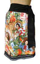 Rockabilly Inspired Mexican Senoritas Pin-Up Skirt - $40.00