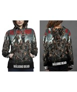Hoodie women walking dead all out war thumbtall