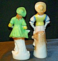 Pair of Hand painted Figurines AA-192055 Vintage Japan image 3