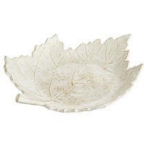 nwt pier 1 Maple Leaf  enamemed Serving Bowl dish - $20.78