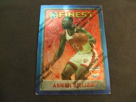 1995-96 Topps Finest w/peel #71 Armon Gilliam-New Jersey Nets- - $3.12