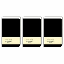 Personal Premium Journals, Pack of 9 Notepads 3.5in x 5.5in - Solid Colo... - $12.71