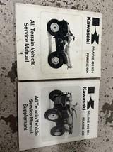 1997 1998 1999 Kawasaki Prairie 400 4x4 Atv Servizio Negozio Manuale Set - $78.78