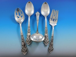 French Renaissance by R&B Sterling Silver Essential Serving Set Large 5-piece - $395.00
