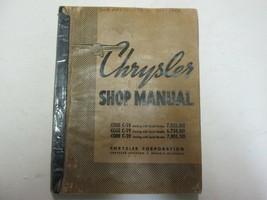 1938 Chrysler Code C-18 C-19 C-20 Service Repair Workshop Manual FACTORY OEM *** - $39.59