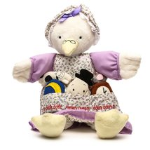 MOTHER GOOSE NURSERY VERSE PLUSH - $12.50