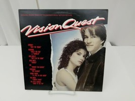 Vision Quest Soundtrack Vinyl Record Album LP ExMt Journey Madonna Don H... - £10.11 GBP