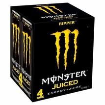 Monster Energy Drink Ripper 4 x 500ml - $23.95