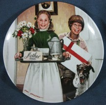 Mothers Day Collector Plate Don Spaulding Americana Holidays 1983 Knowle... - $11.95